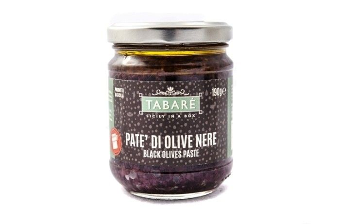 Black Olives Patè. To spice up your pasta or original and delicious bruschettas. Try it also as dressing for white meat (chicken, fish, wild game meat). #olives #patè #condiment #bruschetta #sicily #food