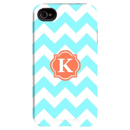 I pinned this Happy Habitat iPhone 4/4s Case in Aqua Zigzag from the Bright & Bold Accessories event at Joss and Main!: 44S Cases, Iphone 44S