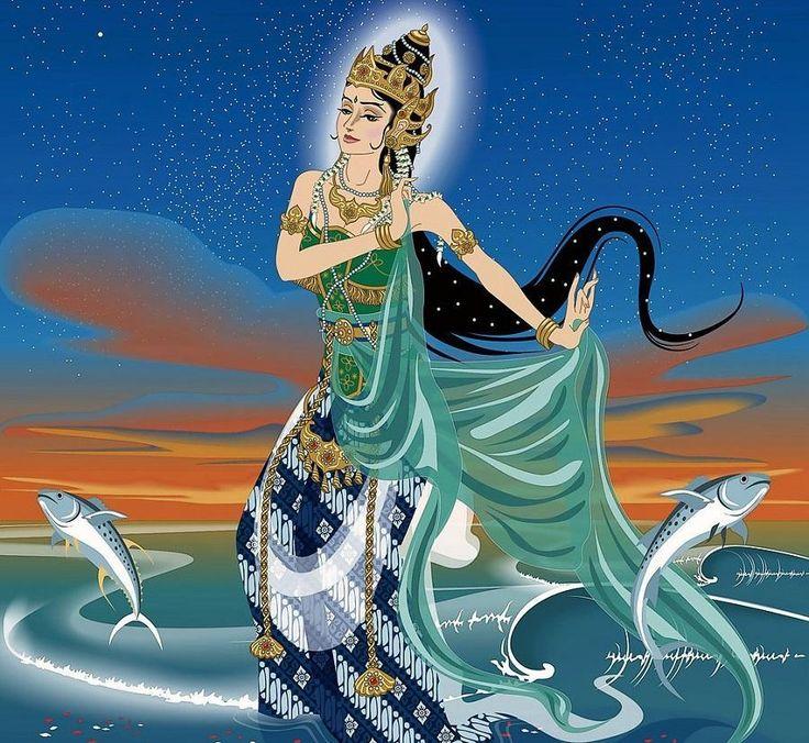 Nyai Roro Kidul , The Queen of Southern Ocean Gambar