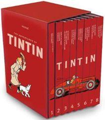 Elsker du Tintin eller kender du nogen der gør? Så er denne samling af Tintin-tegneserier af Hergé noget for dig, dine børn, dine venner eller familie. Se også videoen med alle Kaptajn Haddock's mange bandeord og Timm og Gordons humoristiske Tintin-parodi. Klik på fotoet og læs mere om alle tegneserierne og filmen om Tintin.