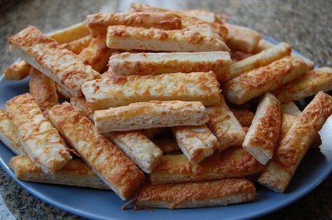 Fitt sajtos rúd recept