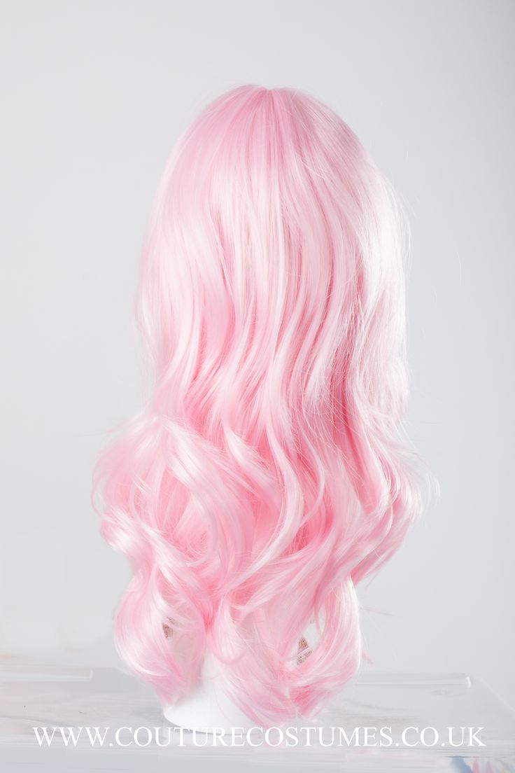 Mermaid Pink Wig www.couturecostumes.co.uk