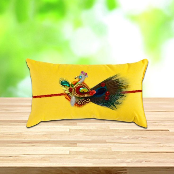 Have a delightful time with your dearest brother on the auspicious day of #Rakshabandhan with this Authentic #PeacockRakhi  only at #BringHomeFestival