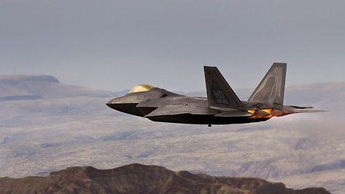 F-22 Raptor. Sleek.