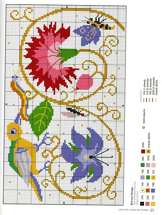 Gallery.ru / Фото #59 - Elizabethan Cross Stitch - Orlanda