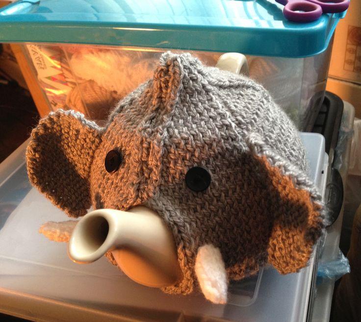 Elephant tea cosy