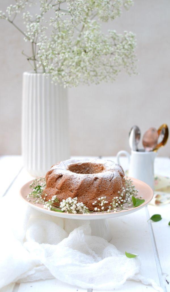 Gâteau au yaourt amande-abricot (vegan) http://www.lesrecettesdejuliette.fr