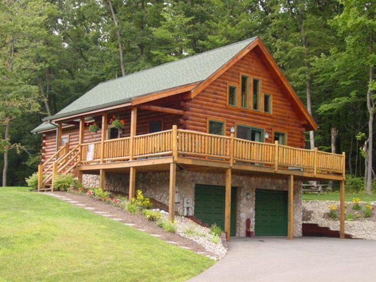 Coventry log homes riverside floorplans log cabin for Riverside house plans