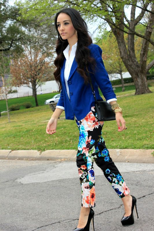 Making floral pants work; on maytedoll