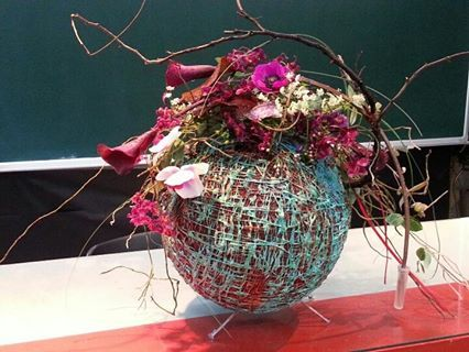 Oh myeon floral art school International florist master school Www.omf.kr Ball Design