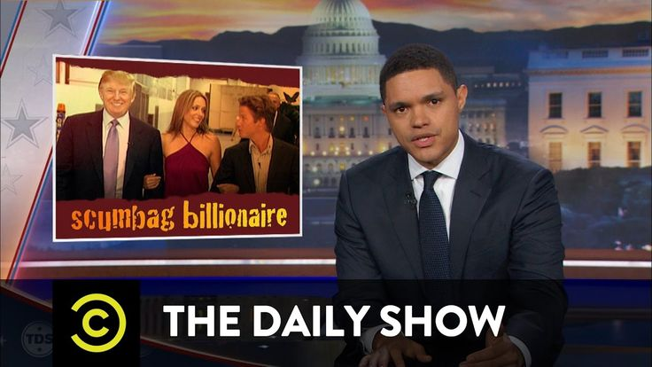 This is EPIC! The Daily Show - Fallout from Donald Trump's P***ygate Scandal