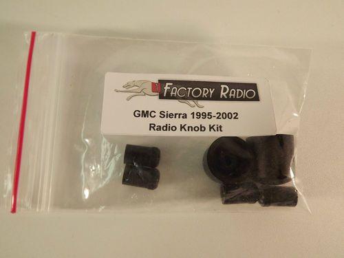 Radio Knobs for GMC C/K Sierra Truck 1995 1996 1997 1998 1999 2000 2001 2002 (NEW)
