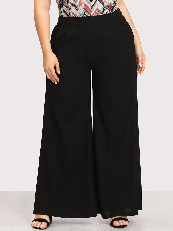 Shop Wide Leg Pants online. SheIn offers Wide Leg Pants & more to fit your fashionable needs.