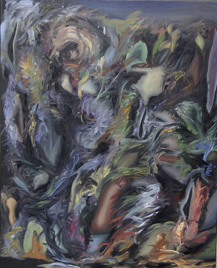 'Various thoughts' by Ziemowit Fincek Oil on cavas; 100 x 70 cm; 2014. www.studentartworks.org