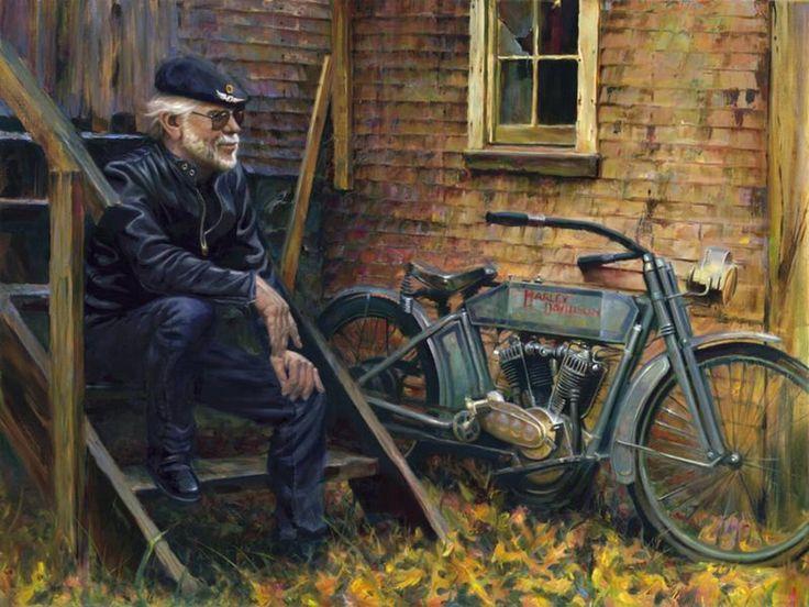 Willie G Davidson: David Uhl (b.1961) €� Willie G Davidson (1050×788)