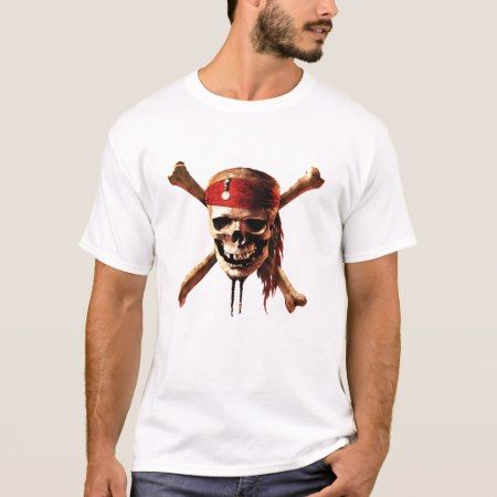 Pirates of the Caribbean skull torches Logo Disney T-Shirt - click/tap to personalize and buy