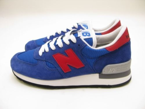 New Balance Made in The USA M990SB Blue Red | eBay