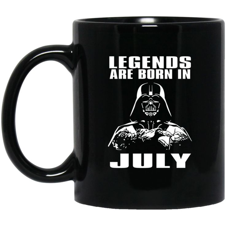 Mug Legends Are Born In July Coffee Mug Tea Mug
