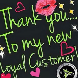 It works! loyal customer thank you bling - Google Search