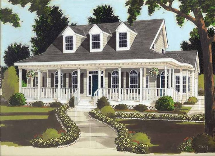 Colonial House Plan With 2177 Square Feet And 4 Bedrooms From Dream Home  Source | House