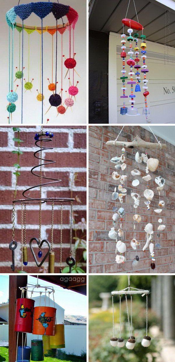 Amazing DIY Wind Chime Ideas & Tutorials for Your Garden