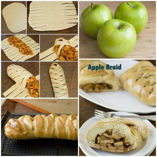 DIY Yummy Apple Braid | UsefulDIY.com Follow Us on Facebook == http://www.facebook.com/UsefulDiy