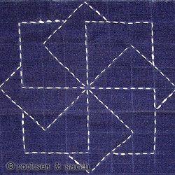 sashiko lesson 1 | Sarah's Hand Embroidery Tutorials