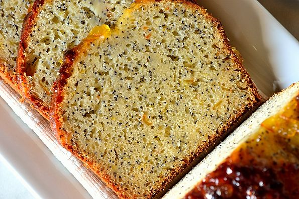 Orange Marmalade Cake...a sticky, pungent treat with tea or coffee