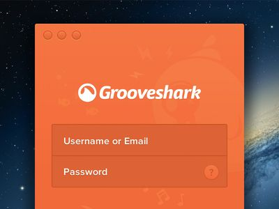 #Grooveshark Mac Login