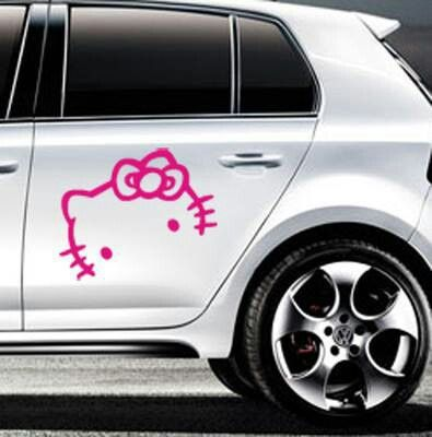 Best Hello Kitty Custom Jeep Ideas Images On Pinterest Hello - Hello kitty custom vinyl decals for car