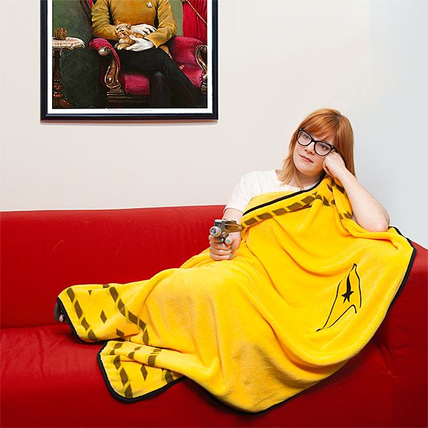 Star Trek Uniform Blanket
