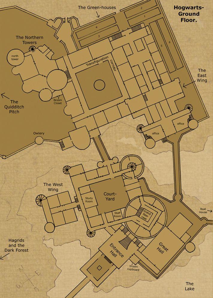 Hogwarts Castle Ground Floor