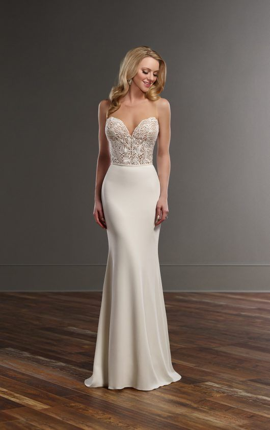 Bryce + Sanja Glamorous lace wedding separates by Martina Liana Wedding Dresses