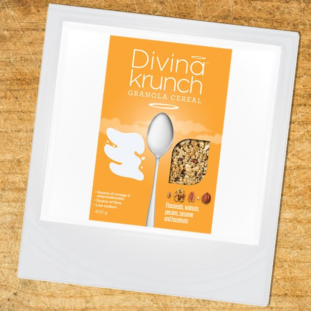 Shop on Amazon.com?  Divina Krunch Granola with Flaxseeds, Walnuts, Pecans, Sesame and hazelnuts is now available to buy on amazon prime!  http://www.amazon.com/gp/product/B00Q7667LW   #Granola #Nuts #Cereal #Breakfast #DivinaKrunch