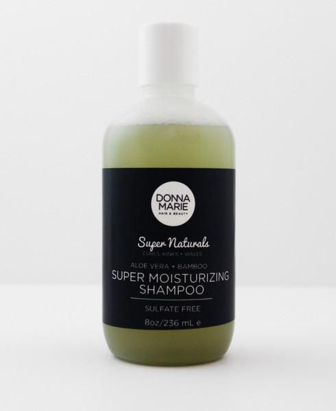 Cleanse your mane with this super moisturizing, PH balanced, sulfate free shampoo that provides a generous lather without stripping the hair.  Aloe Vera, Marshm