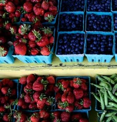 Windsor Food Co-op fresh organic fruit share -YUM!