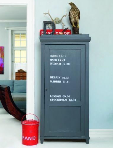 DIY Industrial cabinet via Boligmagasinet.