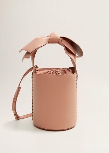 fa09142bc201 Bow bucket bag | that'sbag | Borse, Autunno inverno y Borsette