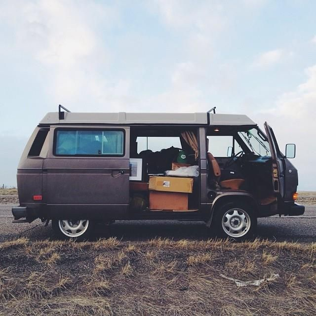 van-life:  Model: Vanagon Wolfsburg 85'  Location: Bozeman, MT Photo; vanajeros // iamaidan.com #poler #polerstuff #campvibes