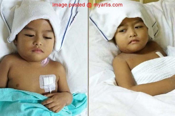 ANAK BAZLI (UNIC) HIDAP KANSER LYMPHOMA   Siapa sangka sikecil yang comel ini sebenarnya menghidap kanser lymphoma yang sering membuat hatinya membengkak. Begitulah nasib anak kepada anggota kumpulan nasyid UNIC Bazli Hazwan 33 iaitu Muhammad Syahid 3 yang kini sedang dirawat di Hospital Kuala Lumpur (HKL). Syahid yang menjalani rawatan kimoterapi dilihat agak lemah kesan daripada rawatan itu. Sebelum disahkan menghidap kanser dia mengalami bengkak kecil di bahagian leher pada hujung 2016…