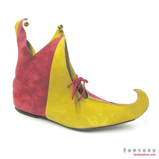 these are too fun! curly toed shoes just seem silly and whimsical