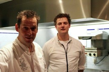 Jan Marrees en Pim Jochems, Restaurant Bretelli Weert.