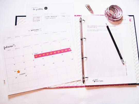 Crea tu propia agenda para 2017 y comienza tu revisión anual!