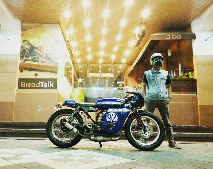 Yamaha RX K / RX King Caferacer
