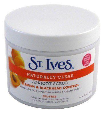 St. Ives Apricot Scrub Blemish & Blackhead Control 10 oz. Jar by St. Ives. $5.49