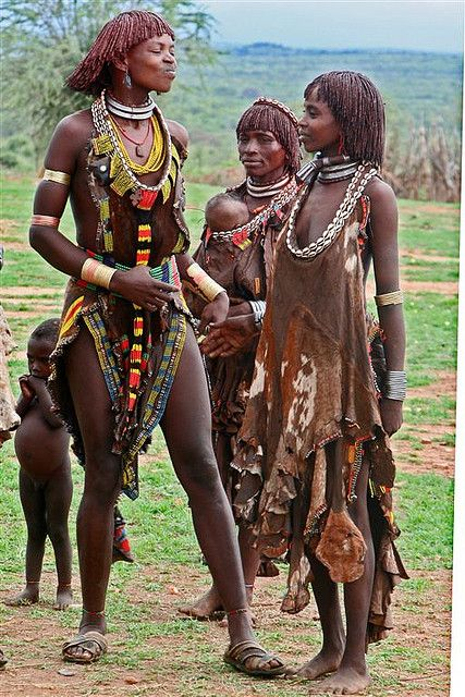 Hamer Ladies, Omo Valley, Ethiopia