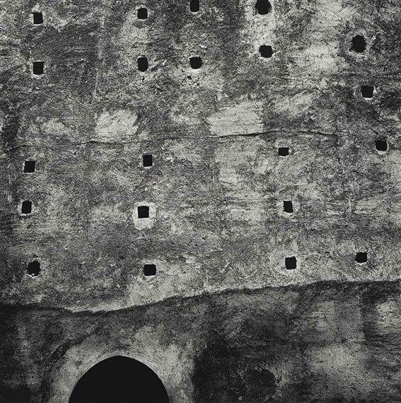 Aaron Siskind. 1982 Morocco no92