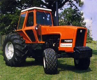 Allis-Chalmers 7080 180hp.Introduced in late 1974