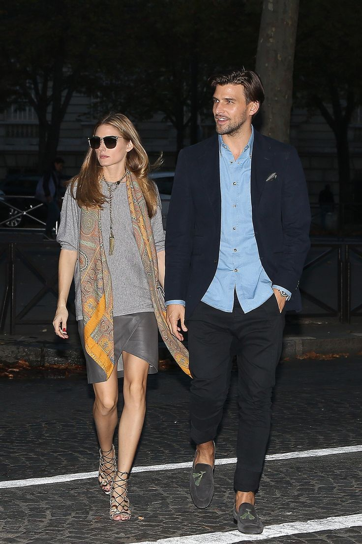 Olivia's boho-inspired look was perfect for a night out in Paris.