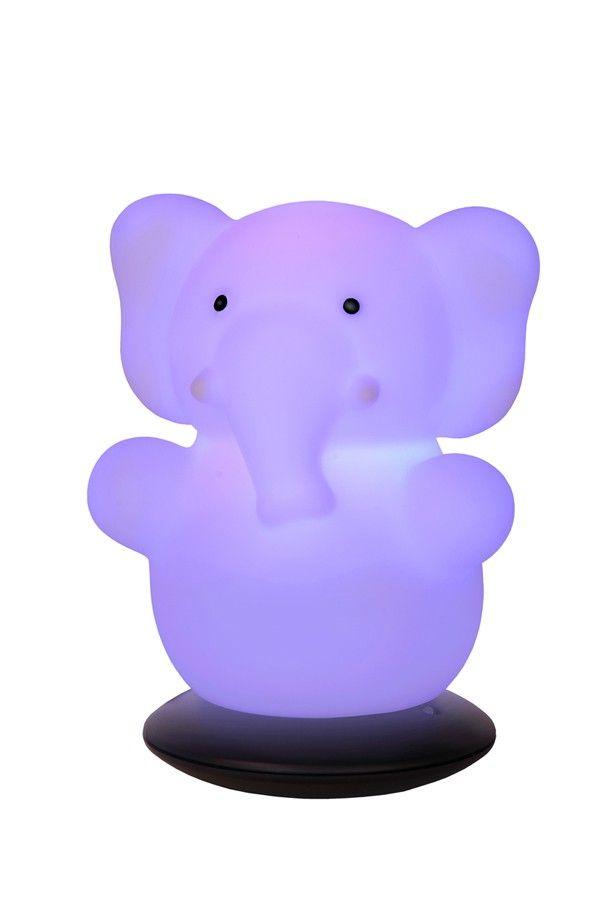 Veilleuse LED éléphant ======> #accessoires #éléphant #Lumière #noel #décoration #shopping